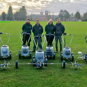 Wellington College grounds staff photo